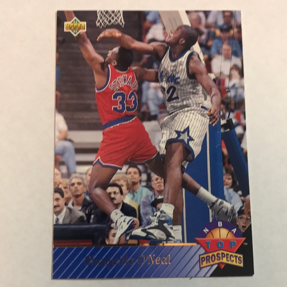 1992 93 Upper Deck Shaquille Oneal Rookie Card